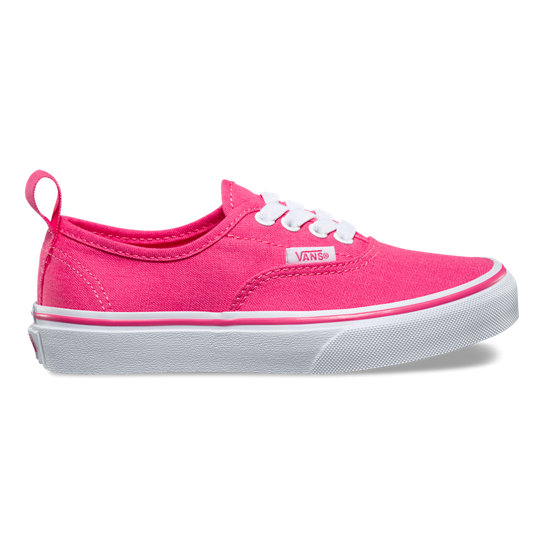 Kids Authentic Elastic Lace Shoes (4-8 years) | Vans