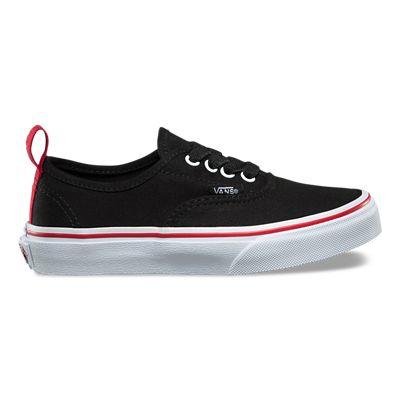 d5af44072a3 Pop Authentic Kinderschoenen met elastische veters | Zwart | Vans