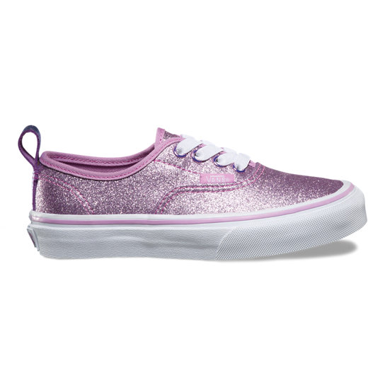 Glitter & Metallica Authentic Elastic Lace Kinderschoenen | Vans