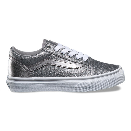 vans old skool glitter