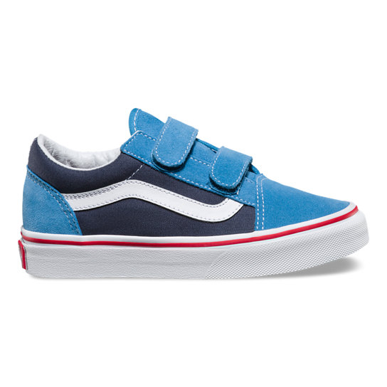 Kids 2 Tone Old Skool V Shoes | Vans