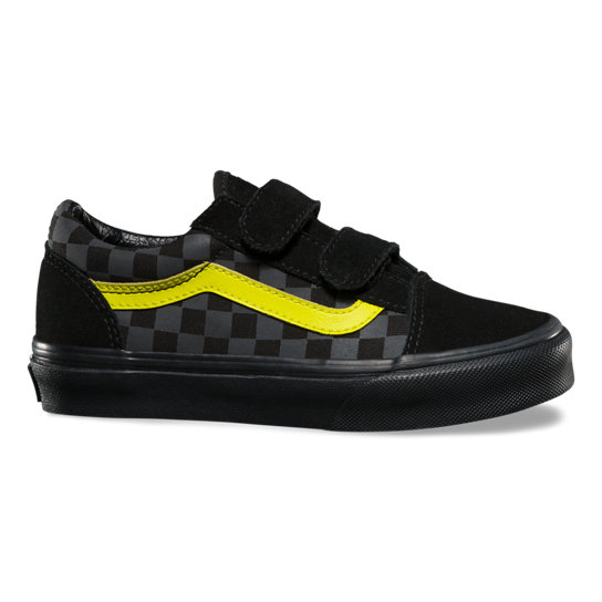 Chaussures Junior Checkerboardboard Old Skool V (4-8 ans) | Vans