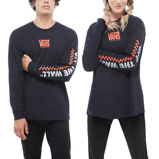 Oversized Throwback Long Sleeve T-Shirt | Vans