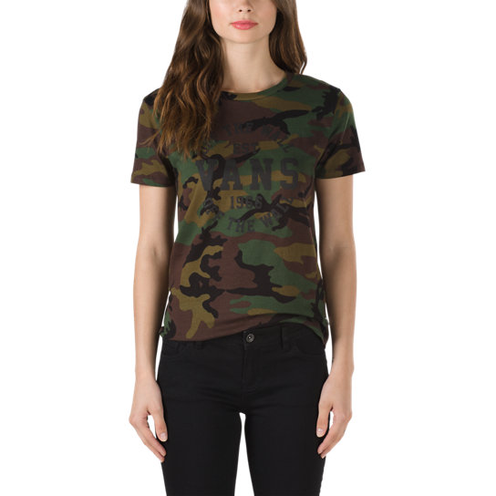Old Skool Camo T-Shirt | Vans