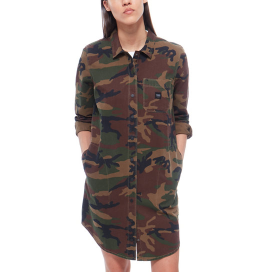 Assembly Shirt Dress | Vans