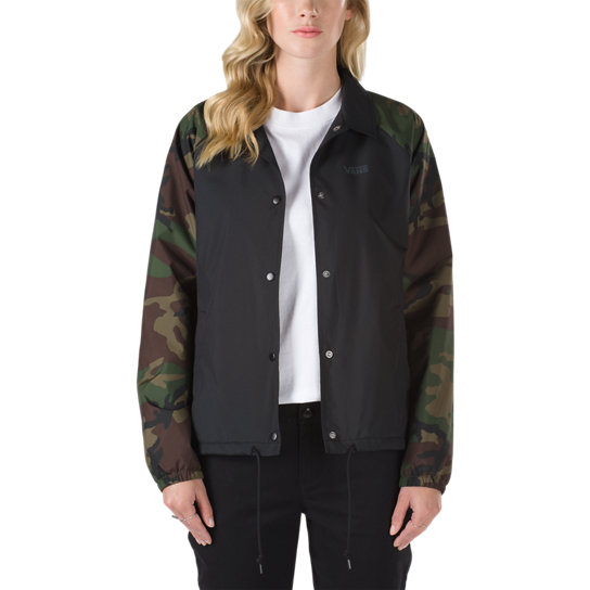 Chaqueta Camo Thanks Coach | Vans