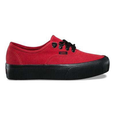 red vans platforms