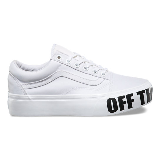 Off the Wall Old Skool Platform Schuhe | Vans
