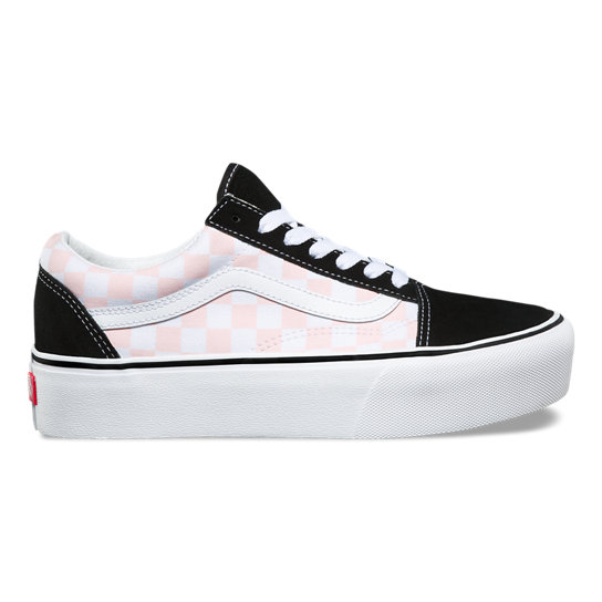 Checkerboardboard Old Skool Platform Shoes | Vans