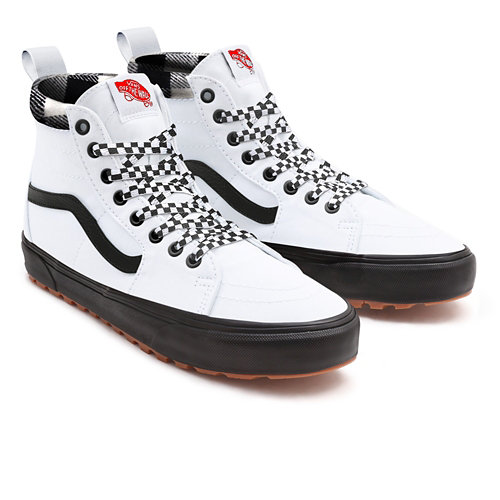 White+Leather+MTE+Sk8-Hi+Personnalis%C3%A9es
