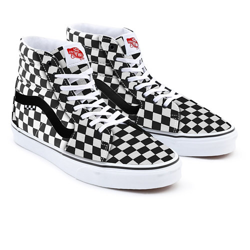 Customs+Checkerboard+Sk8-Hi+Pro