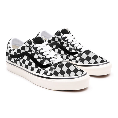 Customs+Checkerboard+Old+Skool+Pro