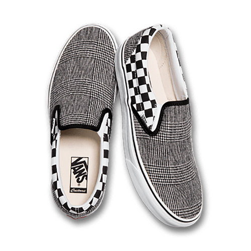 Customs+Checkerboard+Plaid+Slip-On