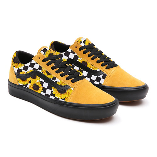 Sunflowers+Old+Skool+Platform+personalizzate