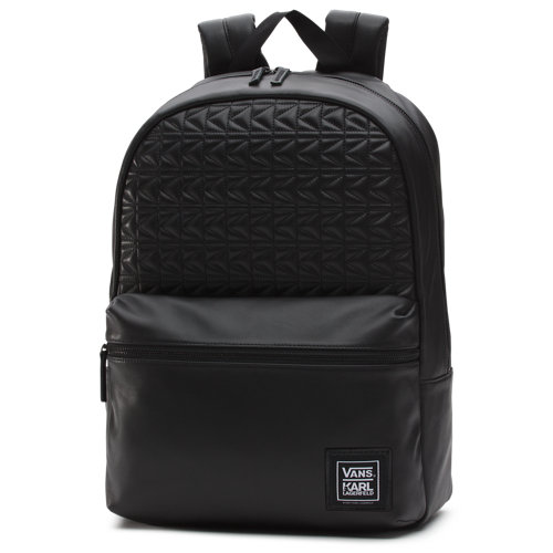 Vans+X+KarL+Lagerfeld+Leather+Backpack