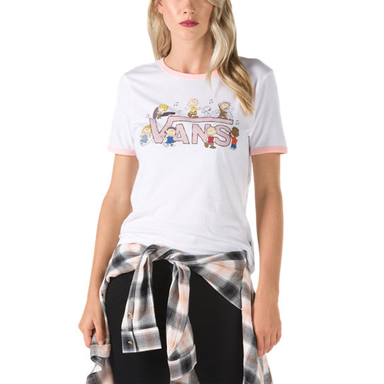 Camiseta Dance Party Ringer Vans x Peanuts | Vans