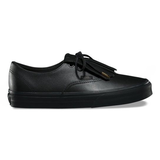 Leather Authentic Fringe  Shoes | Vans