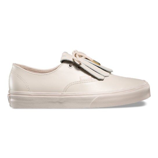 Chaussures en cuir Authentic Fringe | Vans