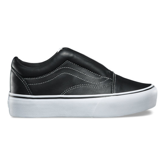 Vans X KarL Lagerfeld Laceless Platform Old Skool Shoes | Vans
