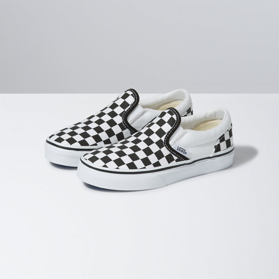 Zapatillas de niño Checkerboard Slip-On | Vans