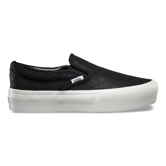 Embossed Slip-On Platform Shoes | Vans