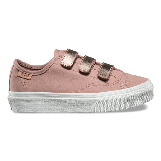 Kids 2-Tone Metallic Style 23 V Shoes | Vans