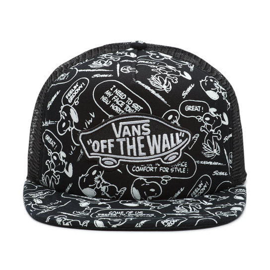 Vans X Peanuts Classic Patch Trucker Plus Hat | Vans