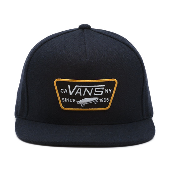 Full Patch Snapback Kappe | Vans
