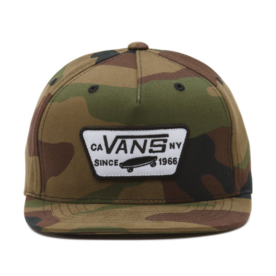 Kinder Full Patch Snapback Hat | Vans