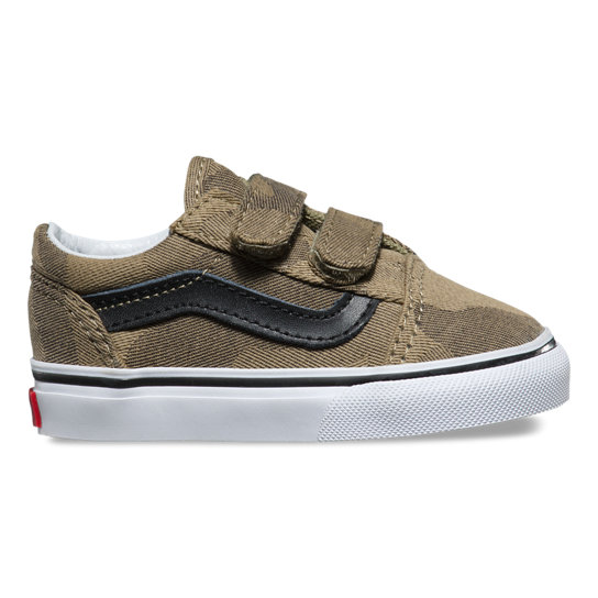 Toddler Camo Jaquard Old Skool V Shoes | Vans