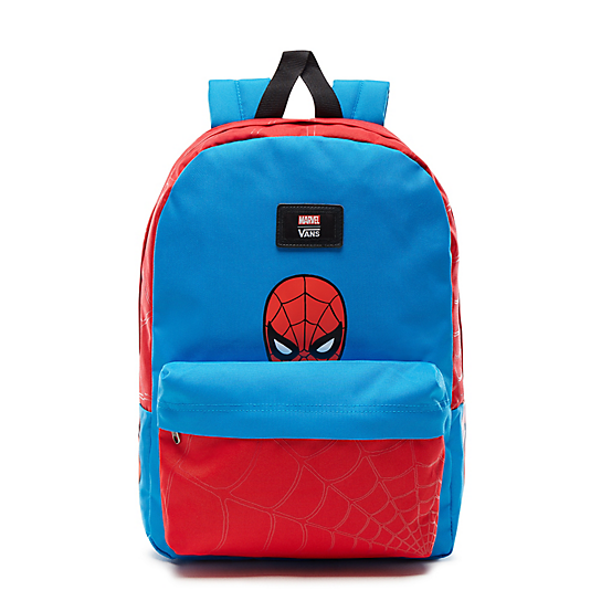 Kids+Vans+X+Marvel+New+Skool+Backpack