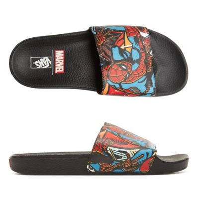 cb9678ff5d Vans X Marvel Slide-On Shoes