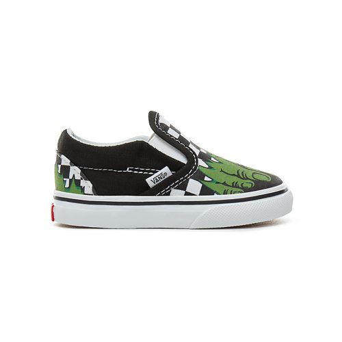Chaussures+B%C3%A9b%C3%A9+Vans+X+Marvel+Classic+Slip-On