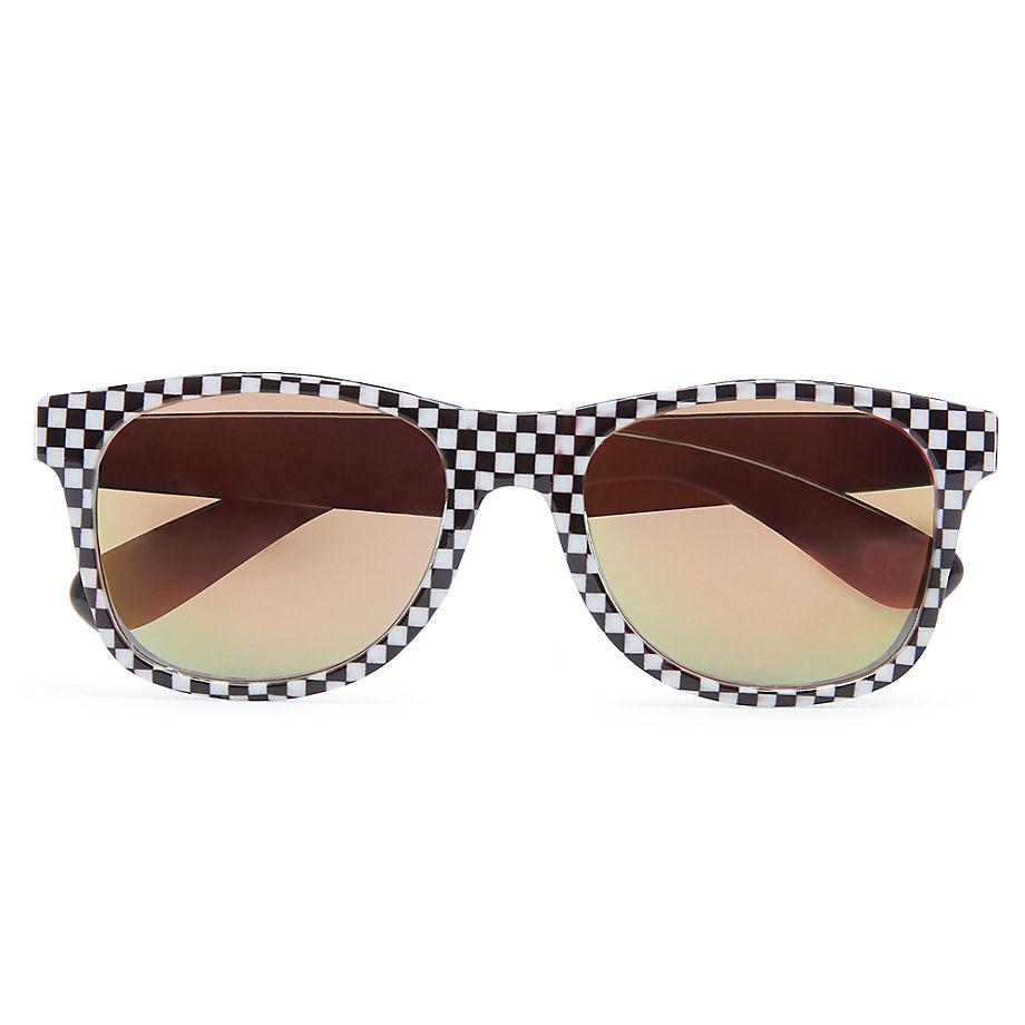 f0a68545525de4 VANS Spicoli 4 Sunglasses (black space Blue) Men Checkerboard ...