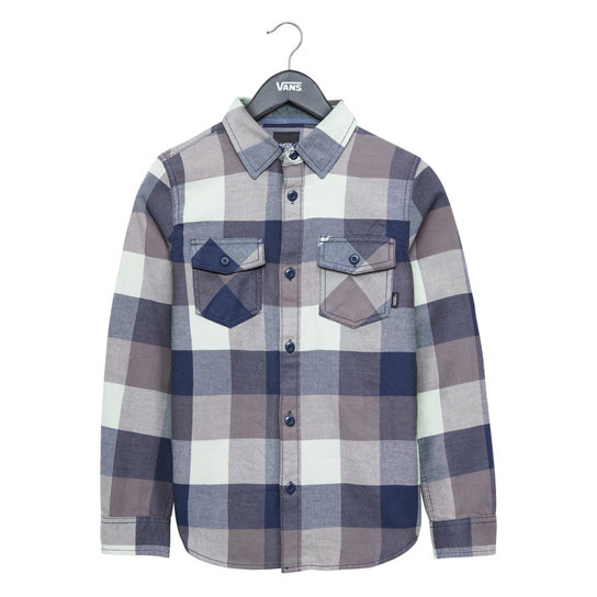 Kids Box Flannel Shirt | Vans