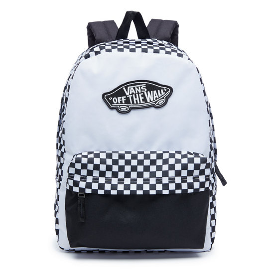 44588a4ab6 Realm Backpack | White | Vans