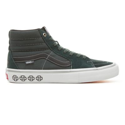 3e36be9304d8 Vans X Independent Sk8-Hi Pro Shoes | Green | Vans