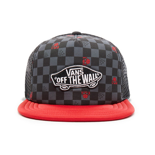 Kids+Vans+X+Marvel+Classic+Patch+Trucker+Plus+Hat