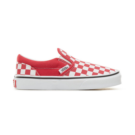 Kids' Checkerboard Classic Slip-On Shoes | Vans