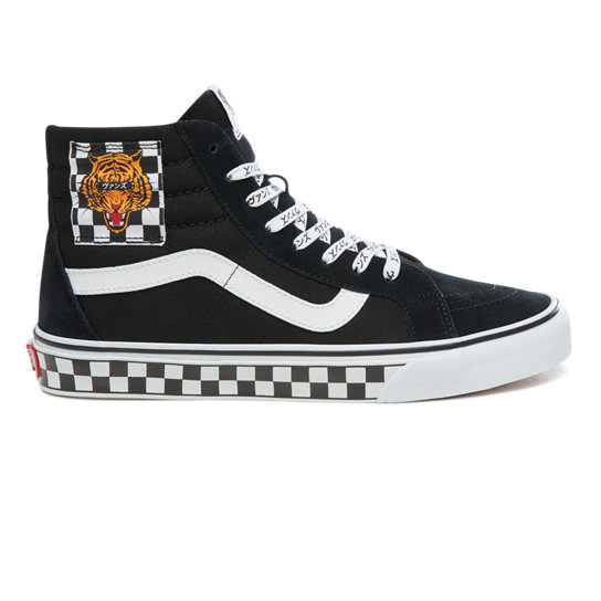 Tiger Check Type Sk8-Hi Reissue Shoes | Vans