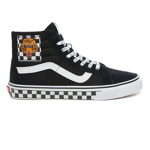 Scarpe+Tiger+Check+Type+Sk8-Hi+Reissue
