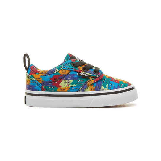 Monster Atwood Slip-On Peuterschoenen (0-3 jaar) | Vans