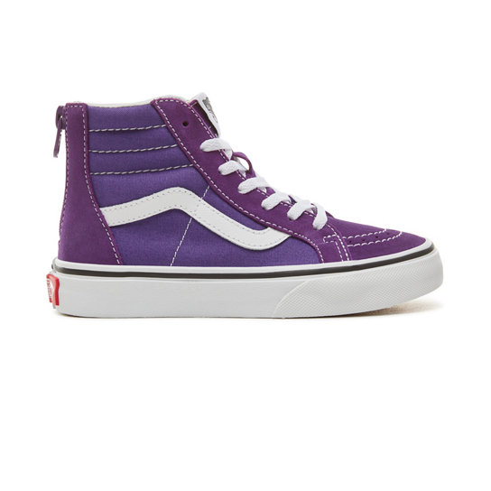 Kids Sk8-Hi Zip Shoes (4-8 years) | Vans