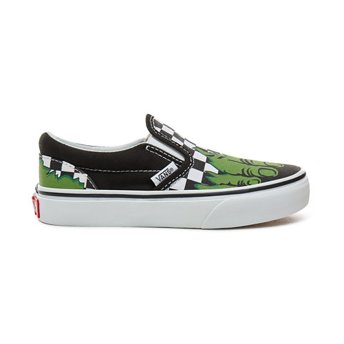 Zapatillas+de+ni%C3%B1os+Vans+X+Marvel+Classic+Slip-On