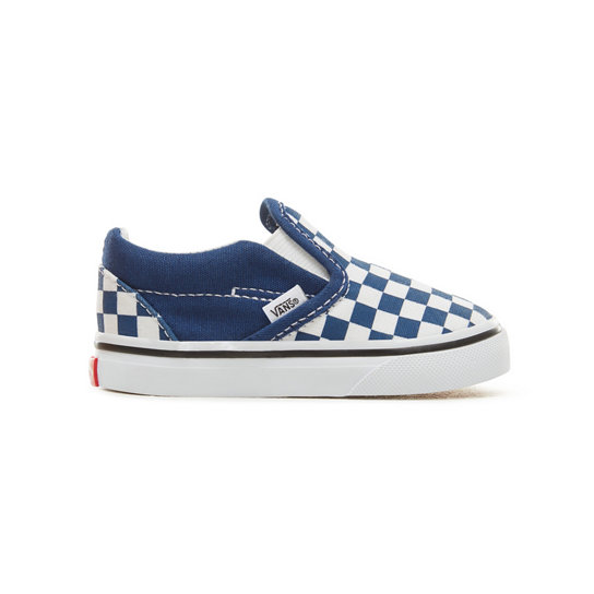 Checkerboard Classic Slip-On Peuterschoenen (1-4 jaar) | Vans