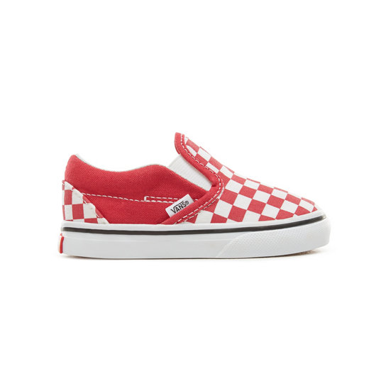 Toddler Checkerboard Classic Slip-On Shoes | Vans