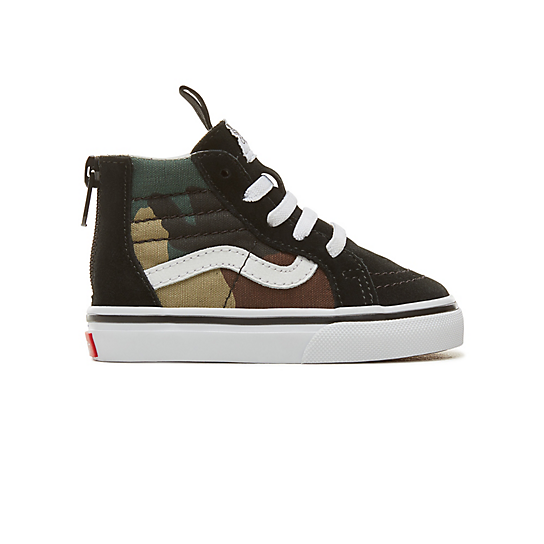 Toddler+Suede+Woodland+Camo+Sk8-Hi+Zip+Shoes+%280-3+years%29