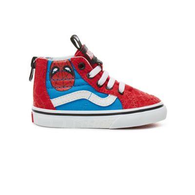 f37873a54af Toddler Vans X Marvel SK8-Hi Zip Shoes