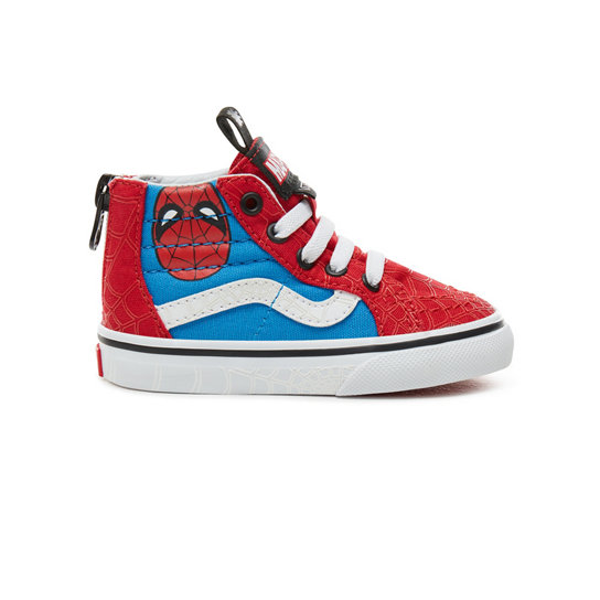 Toddler Vans X Marvel SK8-Hi Zip Shoes | Vans