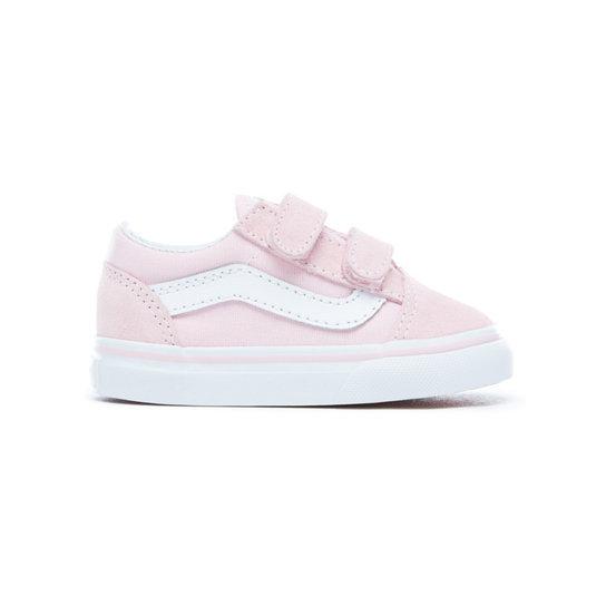 Pink Vans V Shoes Old Toddler Skool Suedecanvas 1BqPpcaH